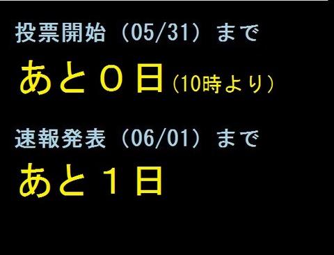 総選挙カウントダウン