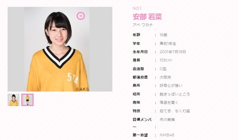 【AKB48】第3回ドラフト候補生・現役目標メンバーランキング 1位渡辺麻、2位山本彩、3位指原、4位荻野