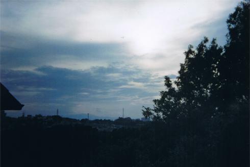 ホルガで景色