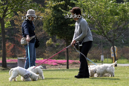 YukikoさんとKiKiママ