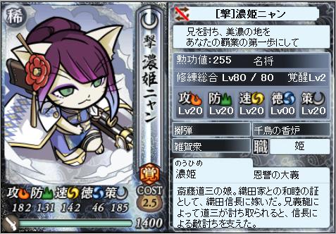 濃姫ニャン