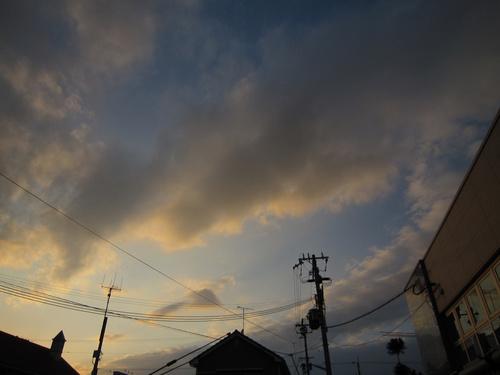 夕景モード