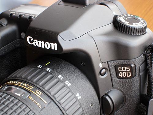EOS 40D + Tokina 12-24mm