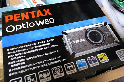 Optio W80