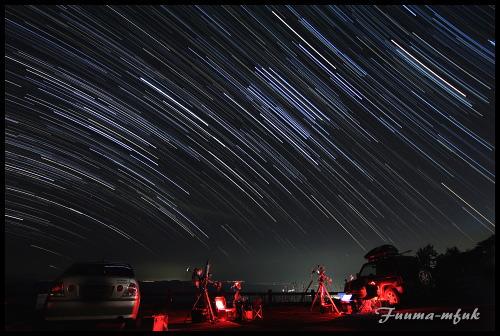 比較(明)の星景写真