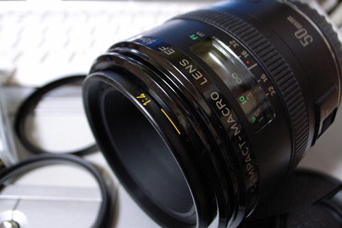 EF50mm F2.5 COMPACT-MACRO