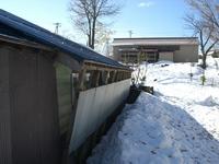 雪囲い20081122