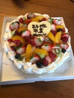 瑠美ちゃん卒業ケーキ2020.03