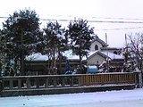 冬の岡田邸
