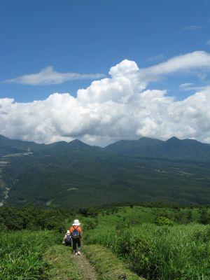 蒜山と夏雲2