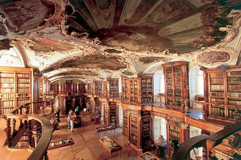 ザンクトガレン修道院図書館