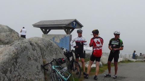 カナダ サイクルツーリング(3)Day 1 Halifax to Chester