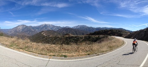 南カリフォルニア自転車合宿(18) Garmin data(地図&距離) とまとめ