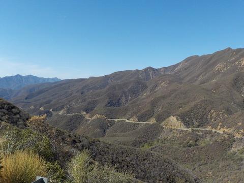 南カリフォルニア自転車合宿(8) 50キロ続くゴージャスな下りを体験!