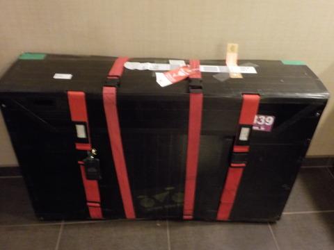 自転車輪行(2) グッディバイクボックスの梱包(海外遠征時用)