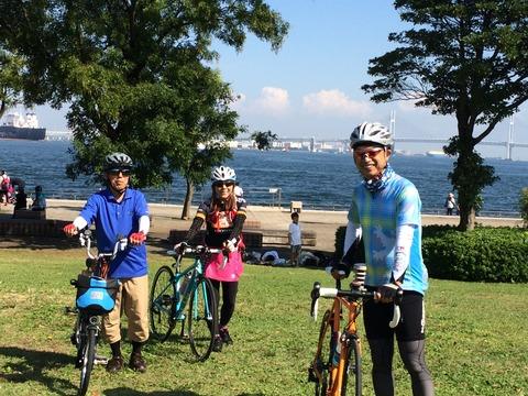 横浜おのぼりさんサイクリングを催行しました!