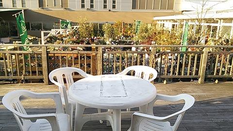 ステキ再発見、デパートの屋上ガーデン。絶好のランチ場所!?