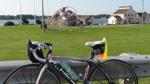 カナダ サイクルツーリング(9)Day 7, Moncton to Murray Beach