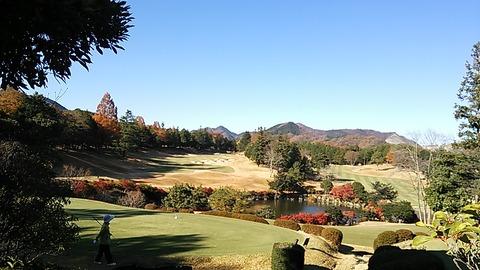 11月はベストシーズン!紅葉のゴルフ。スコアはいったん忘れるか・・・
