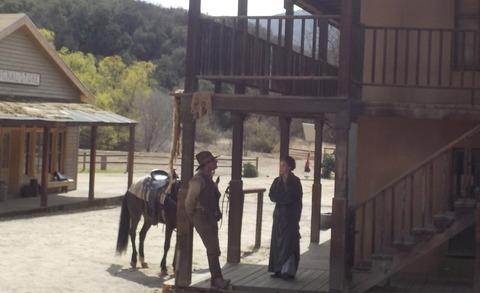 南カリフォルニア自転車合宿(15)No Bike! 西部劇の旧撮影所、Paramount Ranchへ