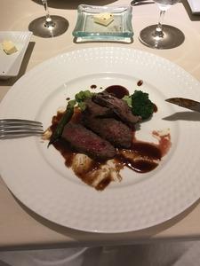 黒部和牛のイチボのステーキ