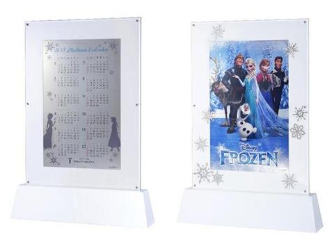 アナと雪の女王の1億円カレンダー