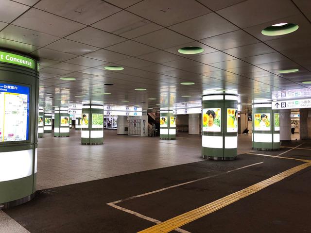 現在の新宿駅の様子をご覧くださいw