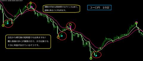 商品ページ用 ユーロ円1分足