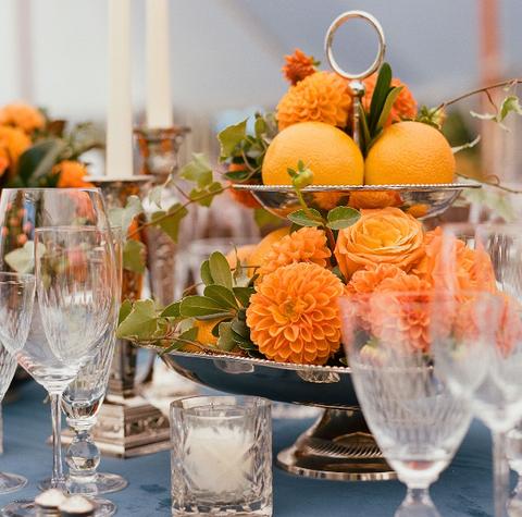 オレンジ食卓