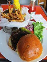 マイアミBig Pingのハンバーガー