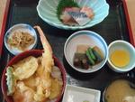海鮮天丼定食