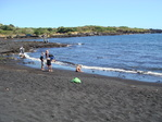 Punalu`u Black Sand Beach