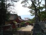 厳島神社(裏から)
