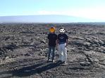 マウナロアとその溶岩