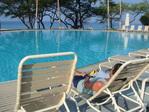 六日目 ホテルのプール&ビーチ
