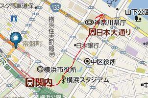 関内駅マップ