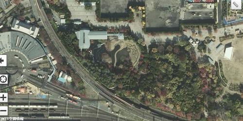 朱雀の庭マップ