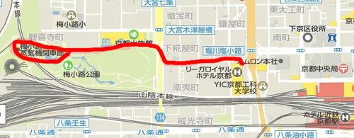 梅小路マップ