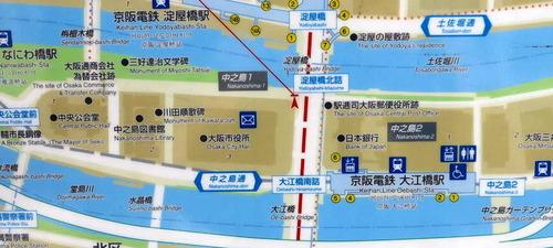 中之島マップ