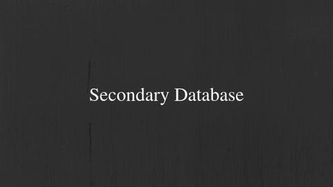 Primary Database (1)