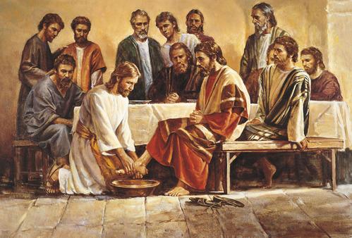 イエス・キリスト_足を洗う