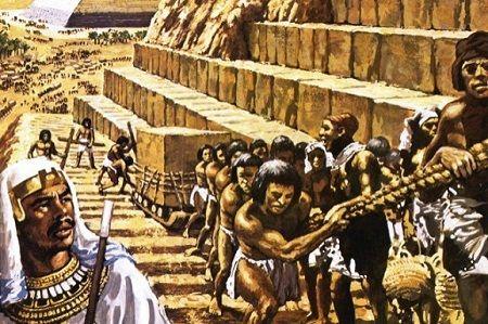 エジプト_ピラミッド労働者