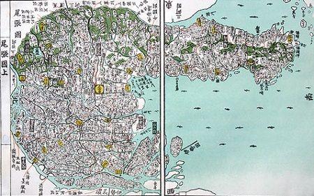 尾張古地図