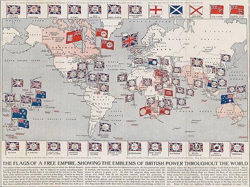 大英帝国最大領土