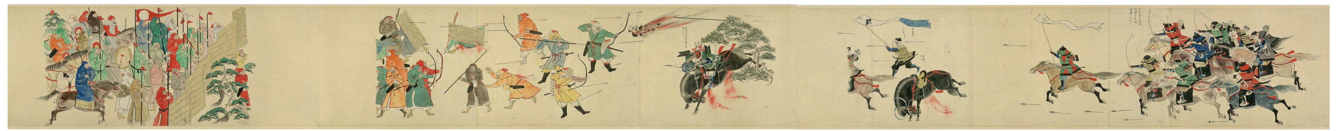 モンゴル 鎧 元寇 死体 盾に関連した画像-02
