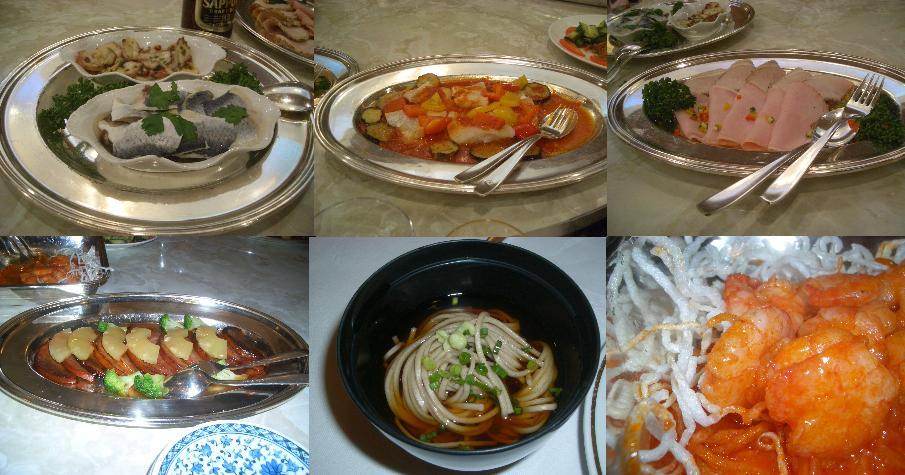 食べるのに夢中で写真を撮り忘れた食事たち(苦笑)