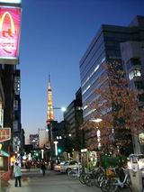 つい最近見た東京タワー(笑)