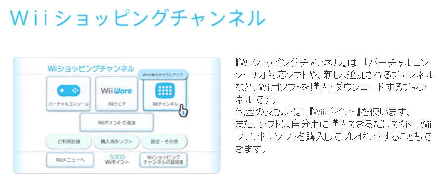 WiiショッピングCh終了間近!】...