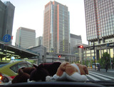 曙の東京駅で