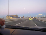 東雲前のディズニーランド脇を走り抜け、
